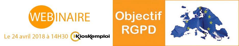 Webinaire : le RGPD appliqué au recrutement