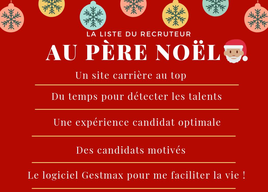 La liste du recruteur au Père Noël