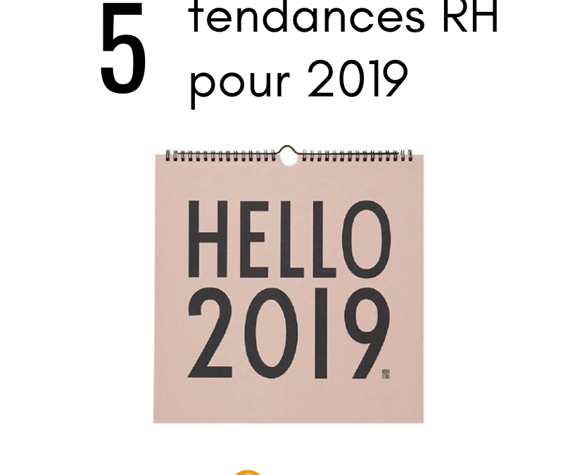 Les tendances RH 2019