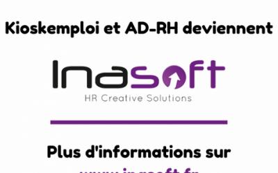 Kioskemploi et AD-RH fusionnent et deviennent Inasoft