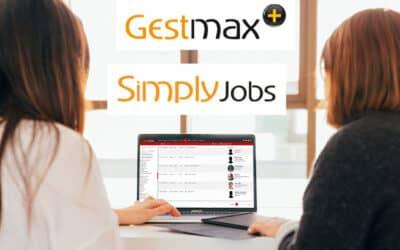 Sortie de la V.26 de Gestmax et Simply Jobs